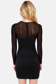 Need Your Love Cutout Black Dress at Lulus.com!