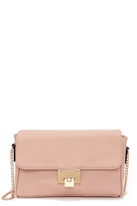 Claim to Femme Blush Pink Purse at Lulus.com!