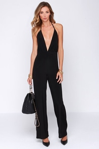 Faithfull the Brand Agenda Black Jumpsuit at Lulus.com!