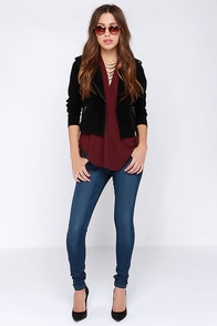 Flying Monkey Real World Medium Wash Ankle Skinny Jeans at Lulus.com!
