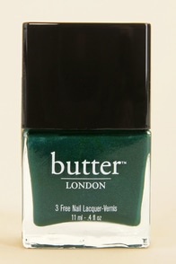 Butter London British Racing Green Nail Lacquer at Lulus.com!