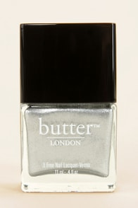 Butter London Diamond Geezer Silver Nail Lacquer at Lulus.com!