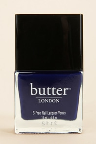 Butter London Royal Navy Blue Nail Lacquer at Lulus.com!