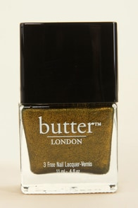 Butter London Wallis Metallic Gold Nail Lacquer at Lulus.com!