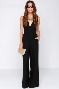BB Dakota Robbie Black Jumpsuit at Lulus.com!