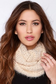 Neck's Top Model Beige Infinity Scarf at Lulus.com!