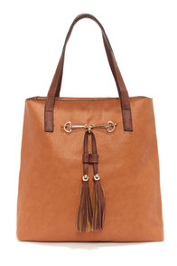 Two Peas in a Pod Tan Tote at Lulus.com!