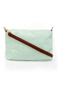 Two Peas in a Pod Mint Blue Tote at Lulus.com!