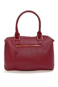 A Show of Hands Burgundy Handbag at Lulus.com!