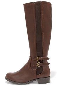 Easy Strider Dark Brown Riding Boots