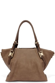 Elite Street Taupe Handbag at Lulus.com!