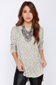 Splendid Weather Cream Sweater at Lulus.com!