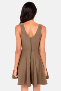 Home Before Daylight Brown Dress at Lulus.com!
