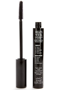 The Balm What's Your Type Tall, Dark, and Handsome Black Mascara