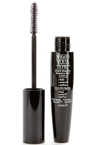 The Balm What's Your Type The Body Builder Black Mascara at Lulus.com!