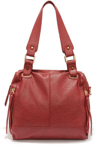 LULUS Exclusive All in the Details Wine Red Purse at Lulus.com!