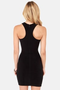 Eleventh Hourglass Black Bodycon Dress at Lulus.com!