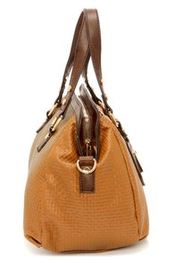 Take It Or Weave It Tan Handbag at Lulus.com!