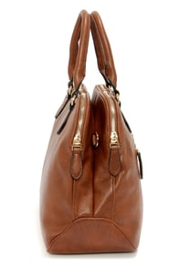 Double Duty Brown Handbag at Lulus.com!