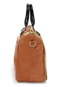 Steve Madden BGambet Beige and Tan Tote at Lulus.com!
