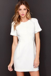 Keepsake Sea of Dreams Ivory Dress at Lulus.com!