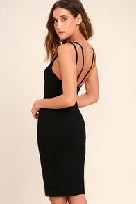 LULUS Exclusive Gracefully Yours Black Dress at Lulus.com!