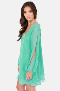 Lucy Love Tallulah Mint Shift Dress at Lulus.com!