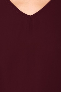The Classics Burgundy Long Sleeve Top at Lulus.com!