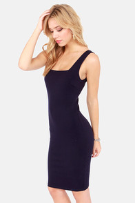 Every Trick in the Book Navy Blue Dress at Lulus.com!