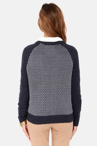 Element Eden Phoenix Navy Blue Sweater at Lulus.com!