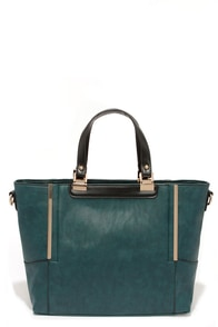 Some Kind of Wonderful Teal Blue Handbag at Lulus.com!