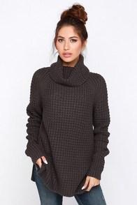 For Sienna Parker Bridge Grey Sweater at Lulus.com!