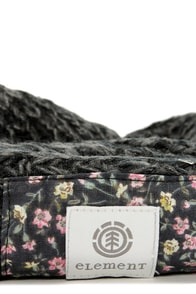 Element Eden Marsalle Dark Grey Circle Scarf at Lulus.com!