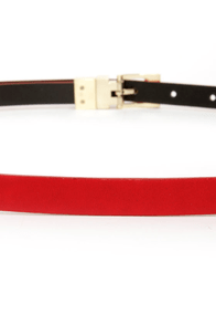 You Belt Your Life! Red Belt at Lulus.com!