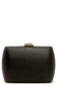 Gem Locker Gold and Black Clutch at Lulus.com!