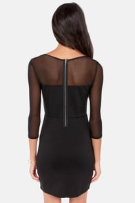 Jack by BB Dakota Lysa Black Dress at Lulus.com!