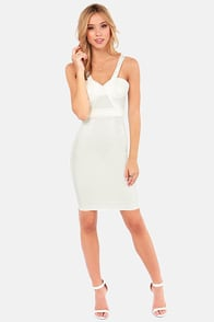 Rubber Ducky Tempest Ivory Midi Dress at Lulus.com!