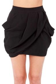 Lovely Layers Black Tulip Skirt at Lulus.com!