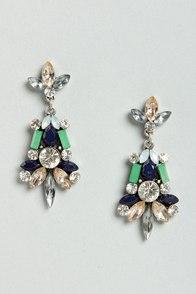 Bon Voyage Blue Dangle Earrings at Lulus.com!