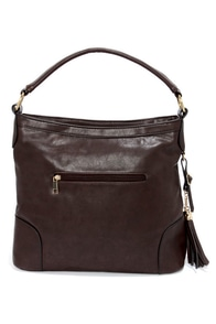 Tassels in the Air Brown Handbag at Lulus.com!