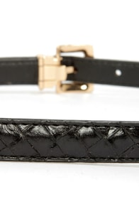 Just Say So Black Belt at Lulus.com!