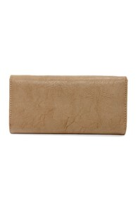 Zip Into Shape Beige Wallet at Lulus.com!