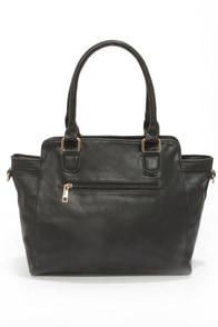 Pursue Your Dreams Black Tote at Lulus.com!