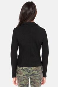 Streamline and Dandy Black Jacket at Lulus.com!