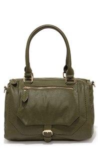 A Show of Hands Olive Green Handbag