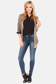 Bolt From the Blue High-Waisted Skinny Jeans at Lulus.com!