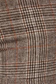 Tweed-ing Frenzy Brown Tweed Shorts at Lulus.com!