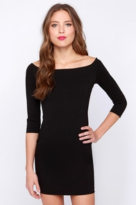 Glamorous Dressed to Thrill Black Bodycon Dress at Lulus.com!
