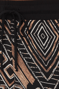 We Had a Tribal Print Cropped Pants at Lulus.com!