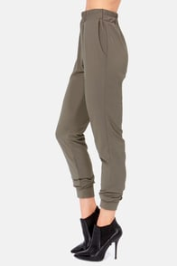 Harem Globetrotters Grey Harem Pants at Lulus.com!